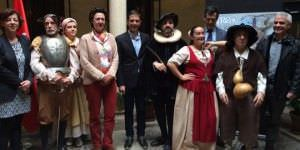Tren de Cervantes. Actores