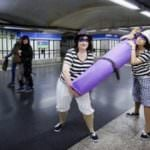 Minipiezas de teatro en trenes y andenes de Metro en homenaje a Cervantes