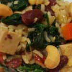 Receta de arroz tierra y mar