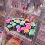Polvos de colores en Holi Run