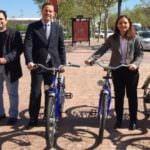 Alquilar bicis con la tarjeta de transporte, ya es posible en la región