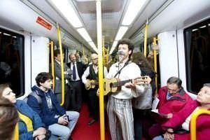Cervantes en el Metro