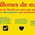 Ya se pueden votar las propuestas de los madrileños para los presupuestos