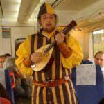 El Tren Medieval con destino a Sigüenza vuelve tras el éxito del año pasado