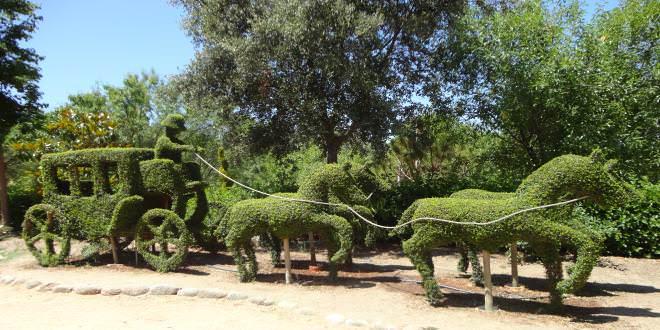el bosque encantado nico parque de esculturas vegetales de europa