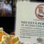 Denuncian a dos cines de Madrid por prohibir comida y bebida del exterior
