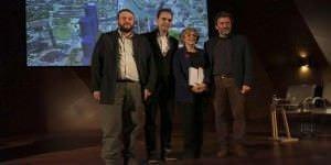 Manuela Carmena en la presentación del nuevo plan para Madrid Norte.