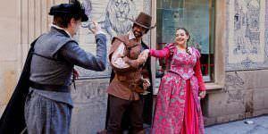 Visita teatralizada por el Barrio de las Letras