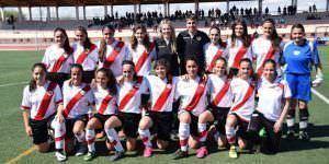 Equipo Infantil femenino Rayo Vallecano