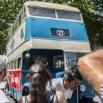 Autobuses históricos de Madrid salen a la calle