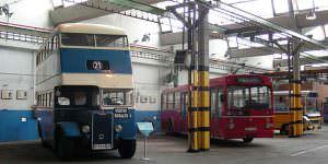 Autobuses antiguos de Madrid