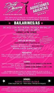 Dirty Dancing, convocatoria bailarines