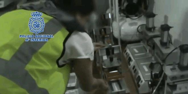 La policia desarticula un taller clandestino en Madrid
