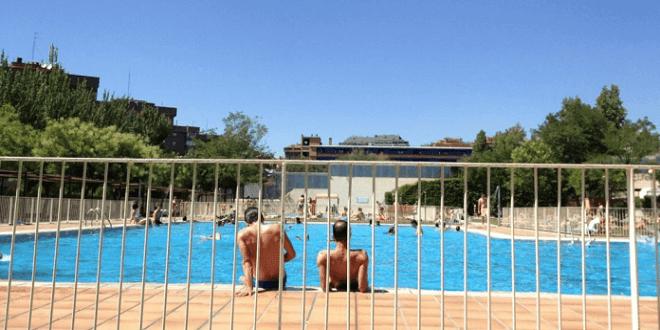 La piscina de Peñuelas, en Arganzuela
