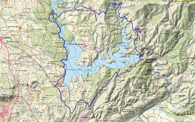 Mapa senda Genaro