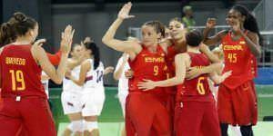 Deportistas madrileños con medalla en los JJ.OO. de Río de Janeiro. Equipo de baloncesto femenino