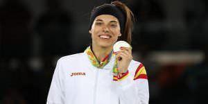 Eva Calvo, medalla de plata en Taekwondo