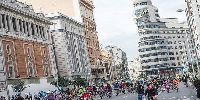 Imagen de la fiesta de la Bici 2015