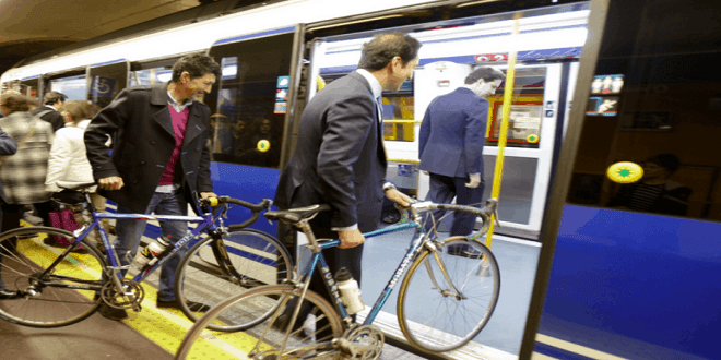 Metro amplía los tramos para acceder con bicicleta