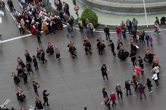 Fiesta Trashumancia grupos populares