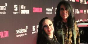 Alaska y Mario Vaquerizo en los Premios Cosmopolitan
