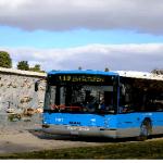 Refuerzo en las líneas de autobuses a los cementerios