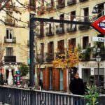 Las escaleras mecánicas del Metro de Chueca se renuevan