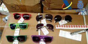 Gafas falsificadas