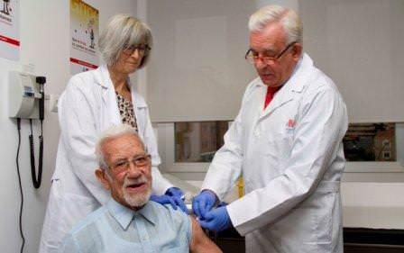 gripe vacunación