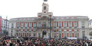 Aniversario del reloj de la Puerta del Sol