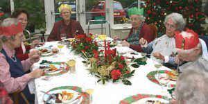 Navidad para mayores y discapacitados