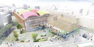 Un polideportivo en la Plaza de la Cebada