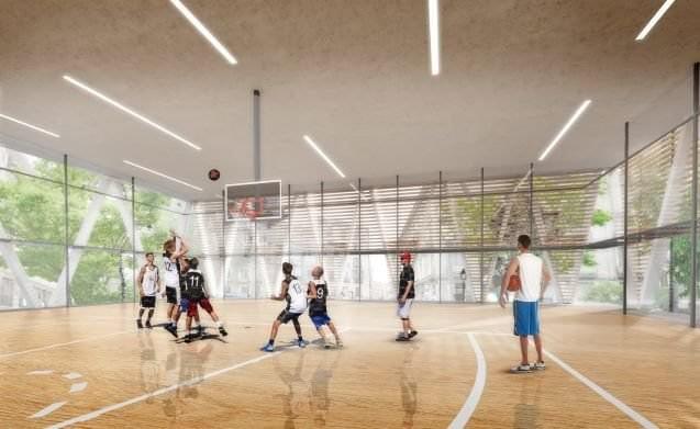 cebada polideportivo baloncesto