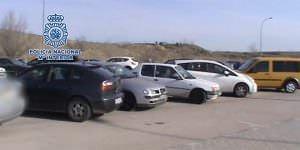 97 taxis de la droga desmantelados
