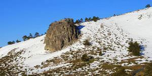 Ruta a la laguna glaciar de Hoyo de Pinilla