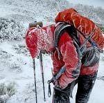 Cómo vestirse en la montaña en invierno