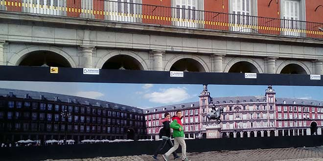 Centenario de la plaza Mayor