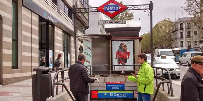 Huelga de maquinistas en Metro de Madrid