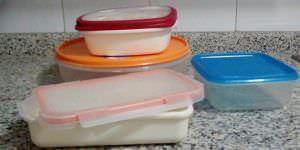 Traslado de alimentos en tarteras