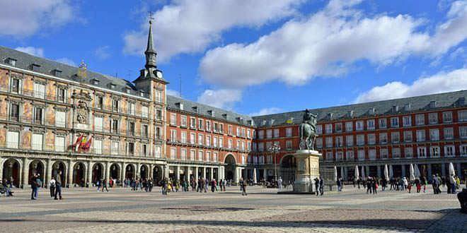 Plaza Mayor, IV centenario