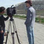 La televisión alemana se interesa por el nuevo estadio del Atlético y la opinión de los vecinos