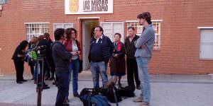 La televisión alemana, con la Asociación de Vecinos Las Musas - Las Rosas