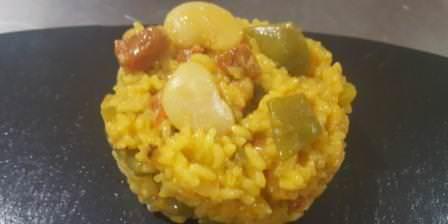 Receta de arroz con chorizo y verduras