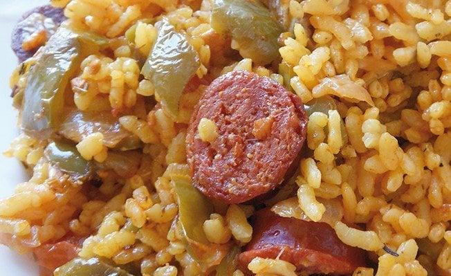 receta-arroz-chorizo
