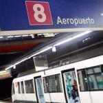 La línea 8 del Metro de Madrid reabre una semana antes de lo previsto