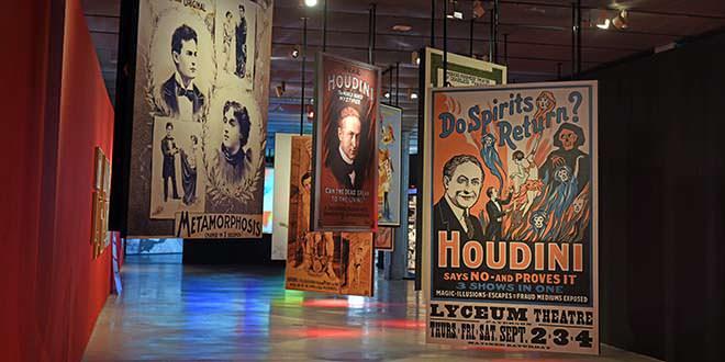 Exposición de Houdini en Espacio Fundación Telefónica