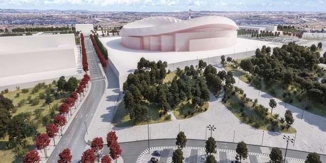 Wanda Metropolitano y sus alrededores