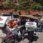 Carabanchel se manifiesta para exigir la ampliación de la línea 11 de Metro