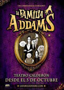 Cartel de 'La Familia Addams'. Foto: Sabina Mompó