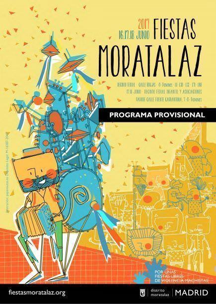 Fiestas de Moratalaz cartel 2017